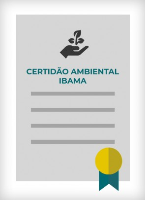 Certidão Ambiental Federal - IBAMA